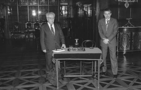 Piotr Jaworski i Paweł Małagowski (Rezydancja Księży Młyn)