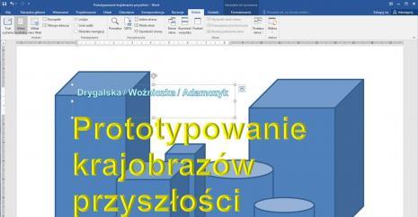 Prototypowanie idei: Prototypowanie krajobrazów przyszłości: design i architektura spekulatywna [rozmowy]