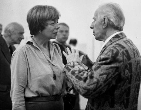 Anna Szpakowska-Kujawska w rozmowie z Konstantym Mackiewiczem
