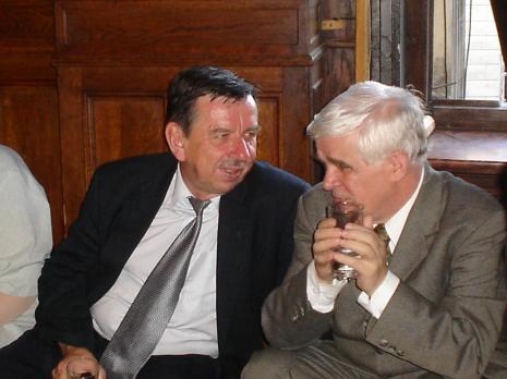 Franciszek Cemka (departemant MKiDN), Jacek Ojrzyński (wicedyrektor ms). Fot. Maciej Cholewiński