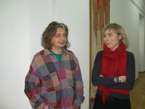 Artyści: Dariusz Fiet i Małgorzata Wolańska M.Ch.