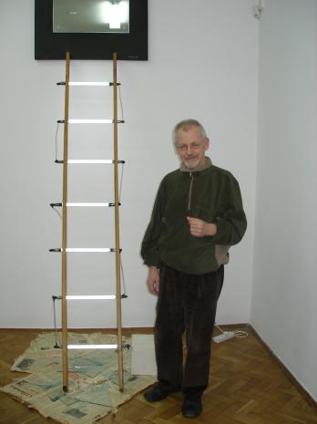 Artysta Edward Łazikowski M.Ch.