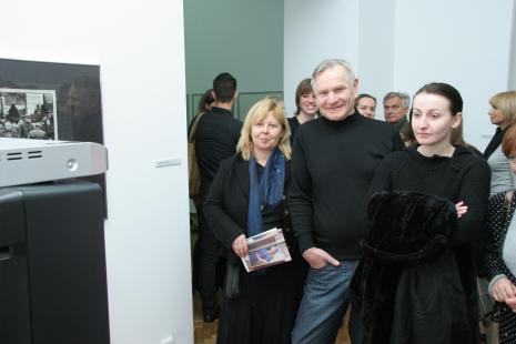 Maria Morzuch (Dział Sztuki Nowoczesnej), Józef Robakowski i Izabela Lejk