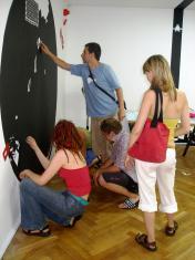 Ulica jednokierunkowa, edycja polska wystawy Beautiful Losers. Sztuka współczesna i kultura ulicy