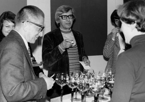 Z lewej dyr. Ryszard Stanisławski i Zbigniew Dłubak