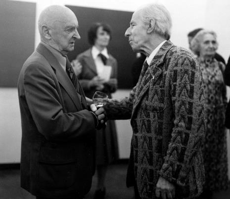 Henryk Stażewski i Konstanty Mackiewicz