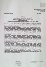 [Komunikat prasowy] Wystawy Joseph Beuys - szaman czy nauczyciel? [...]