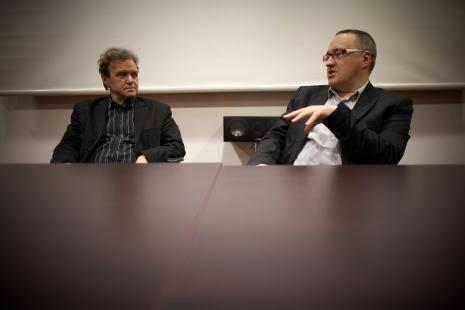 Prof. Ryszard Kluszczyński, Marek Wasilewski