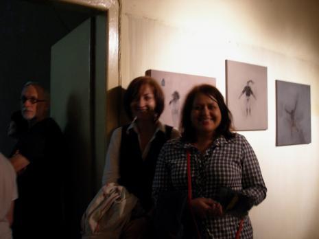 Od lewej Piotr Tomczyk, Joanna Studzińska (kier. Działu Promocji), Aneta Dalbiak (Dział Promocji)