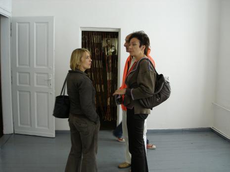 Z lewej red. Joanna Podolska (Gazeta Wyborcza, Łódź)