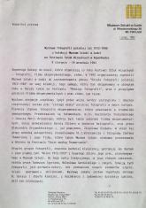 [Komunikat prasowy] Wystawa fotografii polskiej lat 1912 - 1948 z kolekcji Muzeum Sztuki w Łodzi na Festiwalu Sztuk Wizualnych w Kopenhadze.