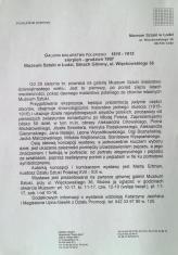 [Komunikat prasowy] Galeria malarstwa polskiego 1815 - 1915, sierpień - grudzień 1997 [...]