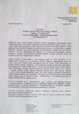 [Komunikat prasowy] Wystawa Grafika wenecka XVIII wieku ze zbiorów polskich, 7 marca - 17 kwietnia 1995 [...]