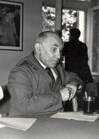 Kustosz Michał Bohdziewicz (Dział Malarstwa Polskiego), kurator wystawy