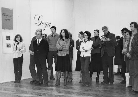 Drugi z prawej w ciemnym garniturze Ryszard Świerczyński (Dział Głównego Inwetaryzatora)