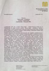 [Komunikat prasowy] Wystawa Muzea sztuki - architektura. Tradycja i współczesność [...]