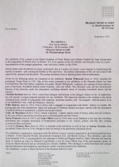 [Komunikat prasowy] Exhibition New Art in Britain 3 October - 26 November 1995 [...]