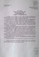 [Komunikat prasowy] Out of Print. Grafika brytyjska 1946-1976 [...]