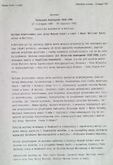 [Komunikat prasowy] Polnische Avangarde 1930-1990. 27 listopada 1992 - 24 stycznia 1993 [...]