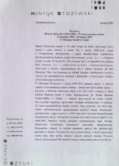 [Komunikat prasowy] Wystawa Henryk Stażewski (1894-1988) - W setną rocznicę urodzin. 13 grudnia 1994 - 26 lutego 1995 [...]