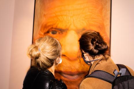 Publiczność na wystawie