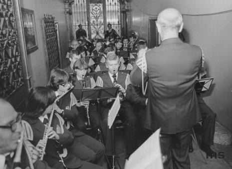 Koncert Orkiestry Dętej ŁZPB im. Obrońców Pokoju pod batutą Mikołaja Stanisławskiego