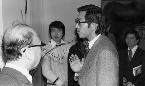 Z lewej ambasador Japonii w Polsce