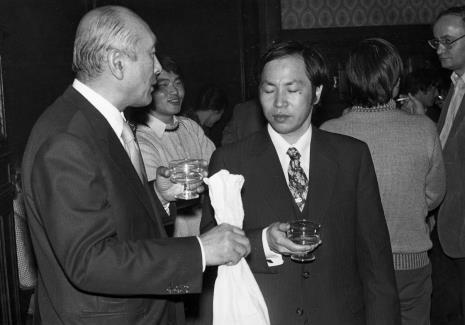 dyr. Masayoshi Honma (Muzeum Narodowe Sztuki Nowoczesnej w Osace) i dyr. Kaoru Momoeda (The Japan Art and Culture Association)