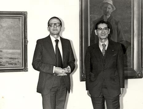 Dyr. Ryszard Stanisławski i senator Noro