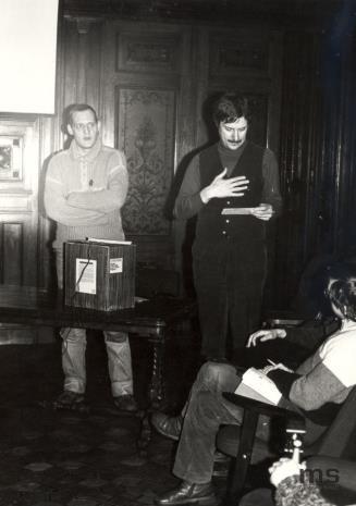 Piotr Bikont i Douglas Davis