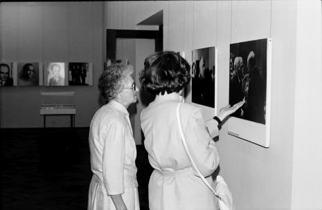 Z lewej Janina Nowakowska (współpracownica pierwszego dyrektora ms Mariana Minicha)