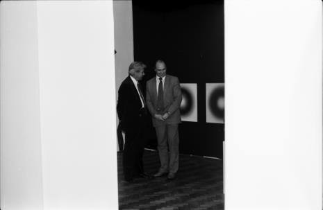 Z prawej dyr. Bogdan Rymaszewski (Ministerstwo Kultury i Sztuki)