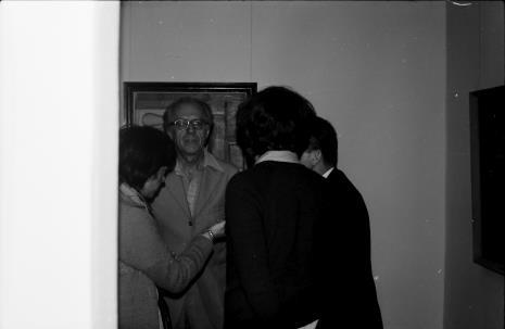 W środku dr Andrzej Ryszkowski
