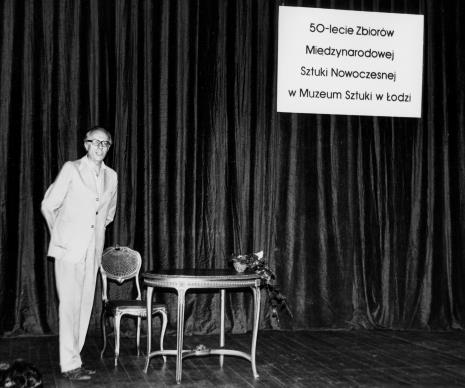 Spotkanie w Teatrze Nowym w Łodzi, dr Andrzej Ryszkowski