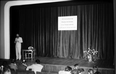 Spotkanie w Teatrze Nowym w Łodzi, dyr. Maciej Łukowski (Wydział Kultury i Sztuki Urzędu Miasta Łodzi)