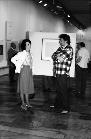 Urszula Czartoryska (Dział Fotografii i Technik Wizualnych) w rozmowie z Krystynem Zielińskim