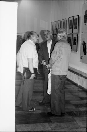 Z lewej Zdzisław Konicki (archiwista)