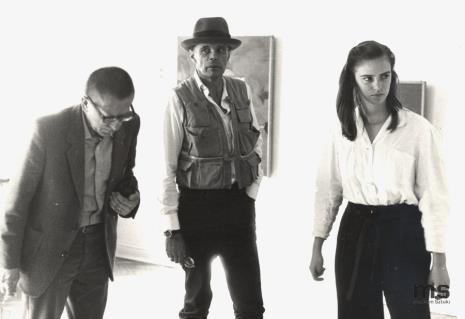 Dyr. Ryszard Stanisławski, Jessyka Beuys (córka) Josepha Beuysa, Joseph Beuys