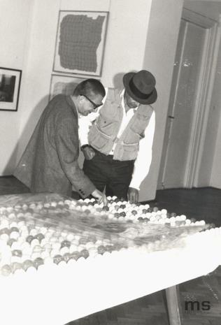 Dyr. Ryszard Stanisławski i Joseph Beuys