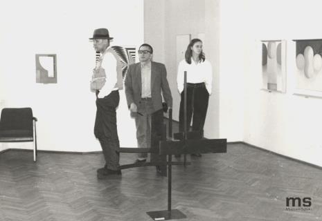 Joseph Beuys, dyr. Ryszard Stanisławski, Jessyka Beuys (córka)