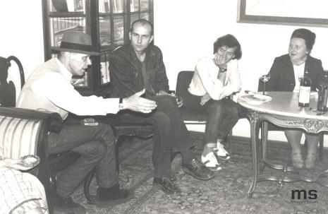 Joseph Beuys, Jaromir Jedliński (Dział Grafiki i Rysunku Nowoczesnego), Lech Lechowicz (Dział Fotografii i Technik Wizualnych), Regina Marqardt (Dział Realizacji Wystaw i Wydawnictw)