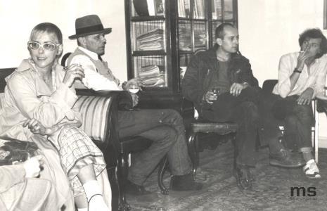 Eva Beuys, Joseph Beuys, Jaromir Jedliński (Dział Grafiki i Rysunku Nowoczesnego), Lech Lechowicz (Dział Fotografii i Technik Wizualnych