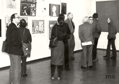 """Paryscy goście na wystawie """"Realizm społeczny pop-artu"""""""