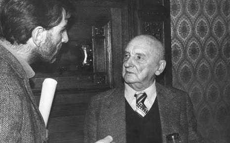 Paul Shartis w rozmowie z Henrykiem Stażewskim