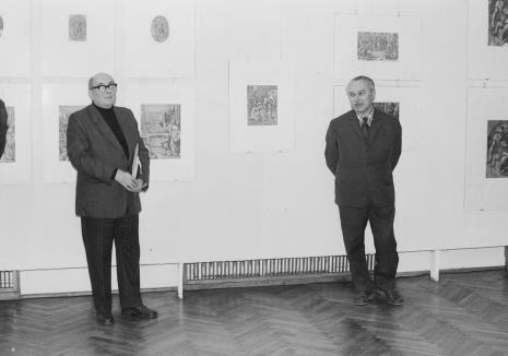 Mieczysław Potemski (Dział Sztuki Obcej), Ryszard Brudzyński (wicedyrektor ms)