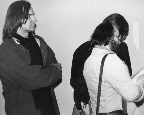 Z lewej Józef Robakowski, w jasnej kurtce Antoni Mikołajczyk
