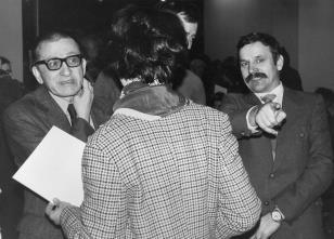 Z lewej dyr. Ryszard Stanisławski