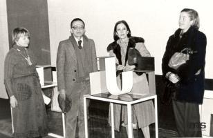 Lea Vergine i Elisabette Fermani, wizyta w ms