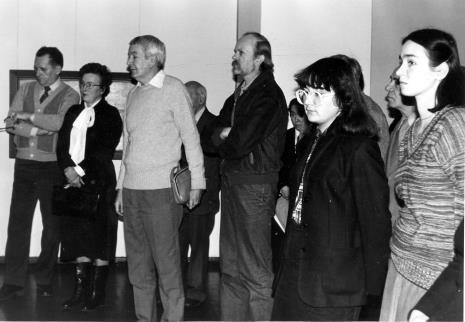 W środku (z wąsami) Andrzej Pukaczewski, obok (w białych okularach) Jolanta Sosnowska (sekretariat)