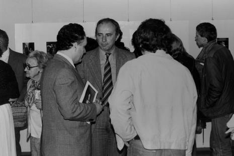 Z lewej red. Henryk Pawlak (Głos Robotniczy), w środku dyr. Kazimierz Mikołajczak (Filharmonia Łódzka)